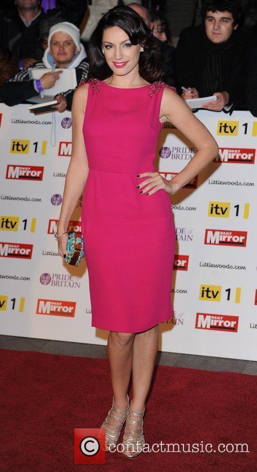 Kelly Brook at Pride Of Britain Awards at...