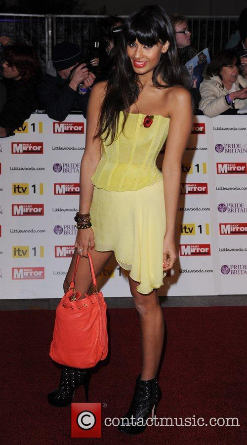 Jameela Jamil at Pride Of Britain Awards at...