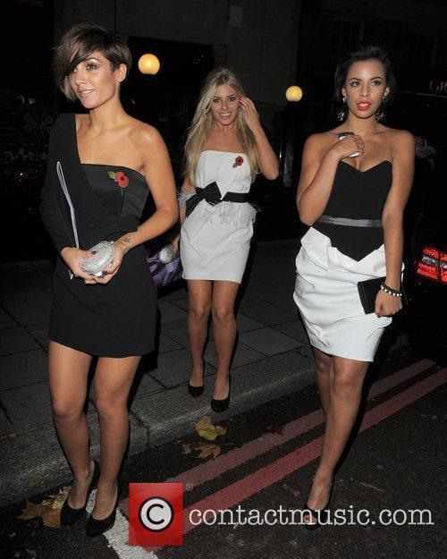 Frankie Sandford, Mollie King, Rochelle Wiseman and The Saturdays 7