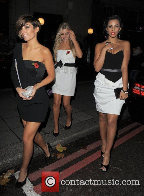 Frankie Sandford, Mollie King, Rochelle Wiseman and The Saturdays 9