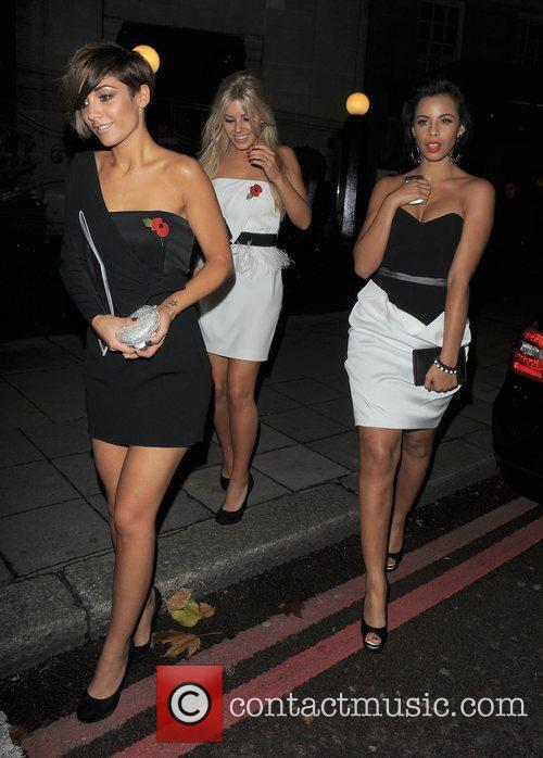 Frankie Sandford, Mollie King, Rochelle Wiseman and The Saturdays 4