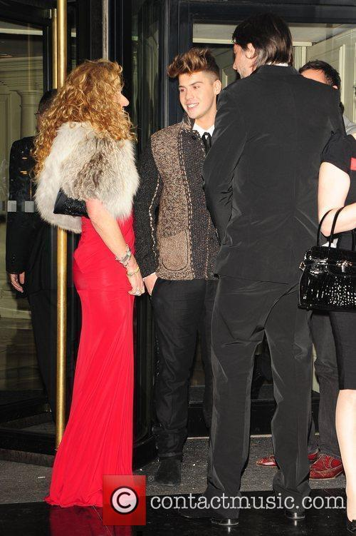 Kelly Hoppen and Aiden Grimshaw Pride of Britain...