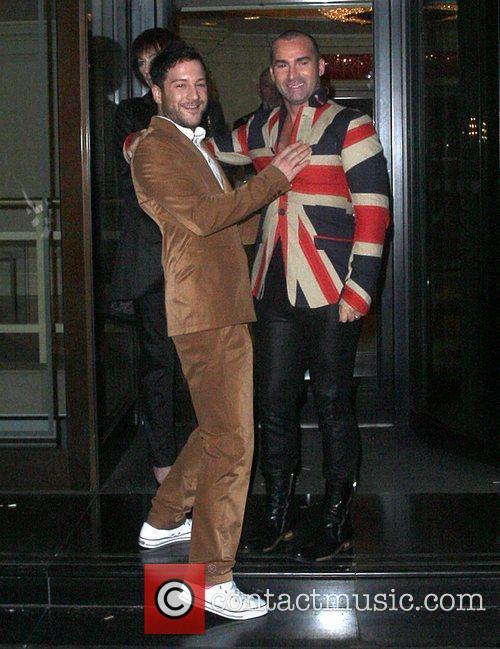 Matt Cardle and Louis Spence Pride of Britain...