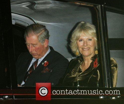 Prince Charles and Camilla, Duchess of Cornwall Pride...
