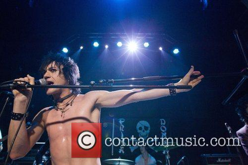 American punk band, Prima Donna, performing live at...