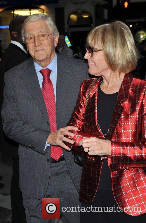 Sir Michael Parkinson and guest Gala night of...