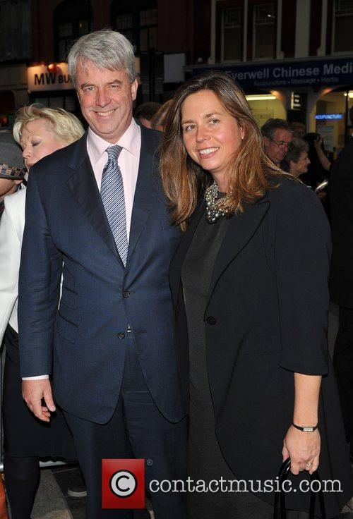 Andrew Lansley and guest Gala night of stage...