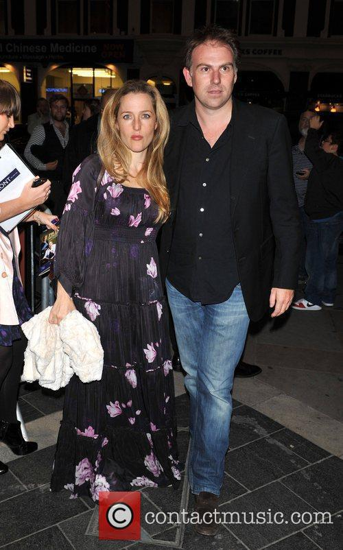 Gillian Anderson and guest Gala night of stage...