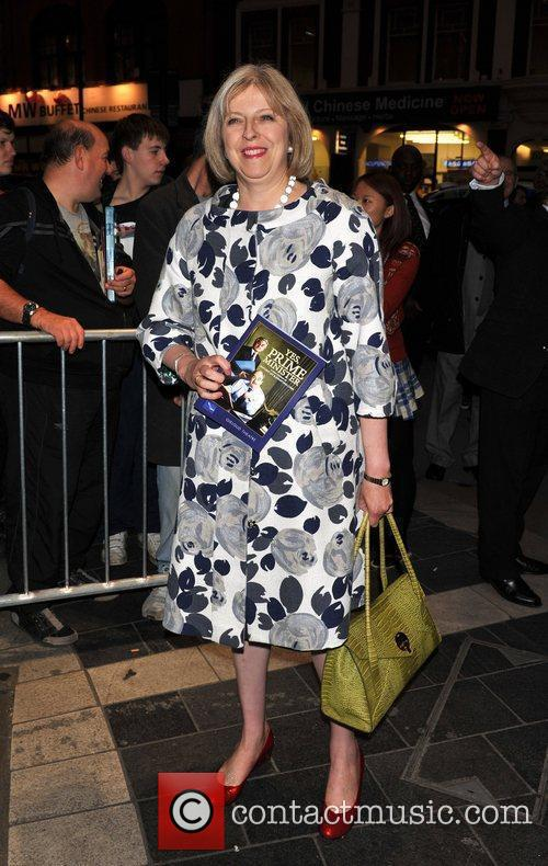 Theresa May Gala night of stage version of...