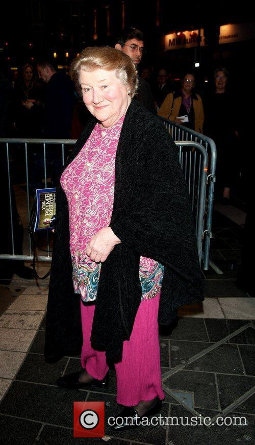 Patricia Routledge Gala night of stage version of...