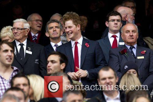 During the Investec International rugby match between England...