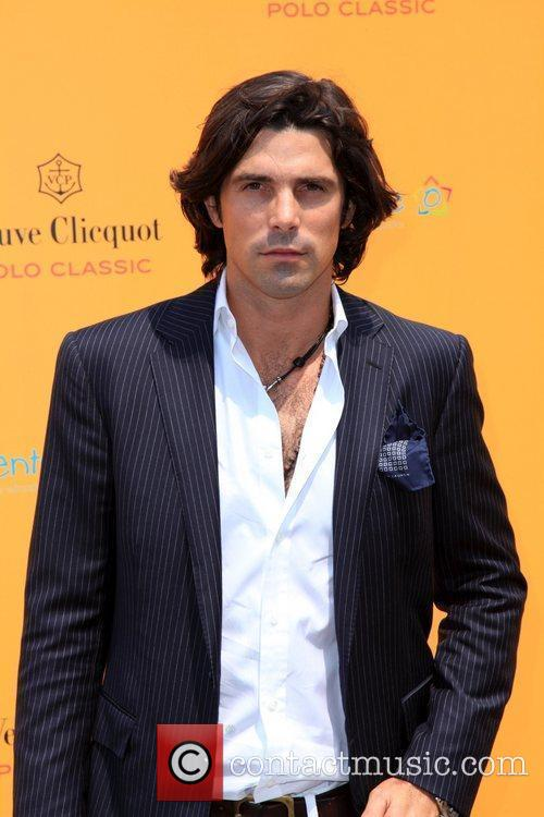 Polo player and model Nacho Figueras at the...