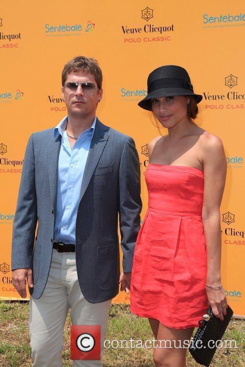 Singer Rob Thomas and wife Marisol Thomas at...