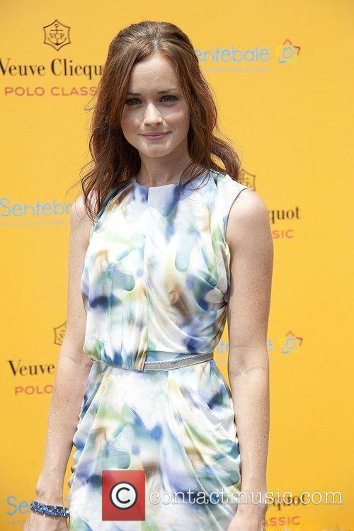 Alexis Bledel during the 3rd annual Veuve Clicquot...