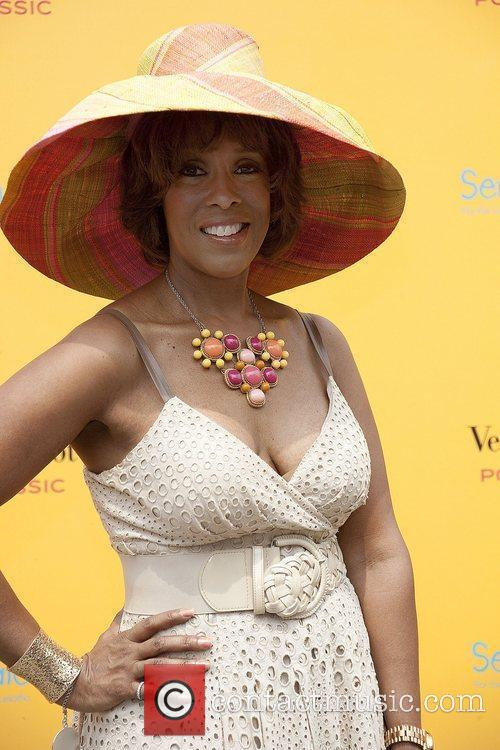 Gayle King  Third Annual Veuve Clicquot Polo...
