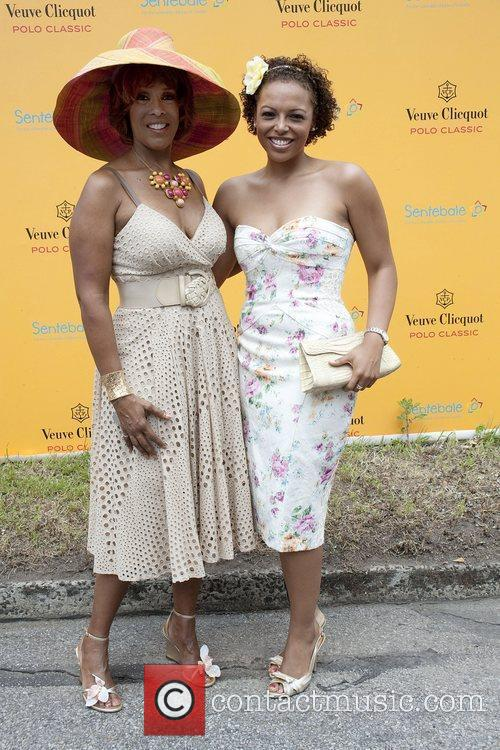 Gayle King and daughter during the 3rd annual...