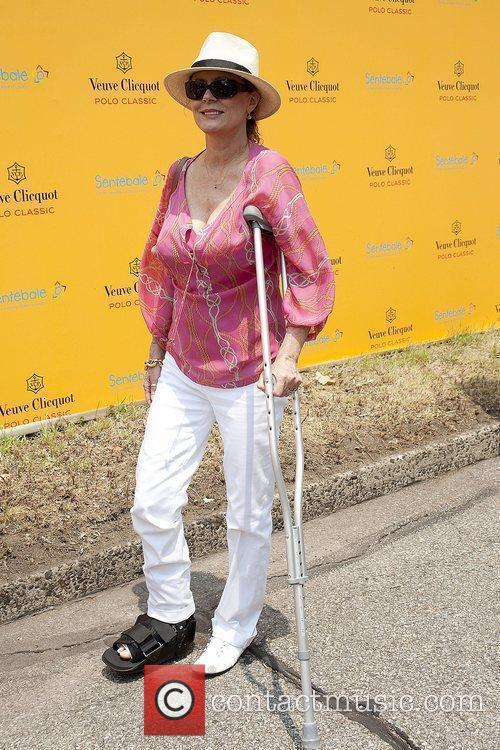 Susan Sarandon during the 3rd annual Veuve Clicquot...