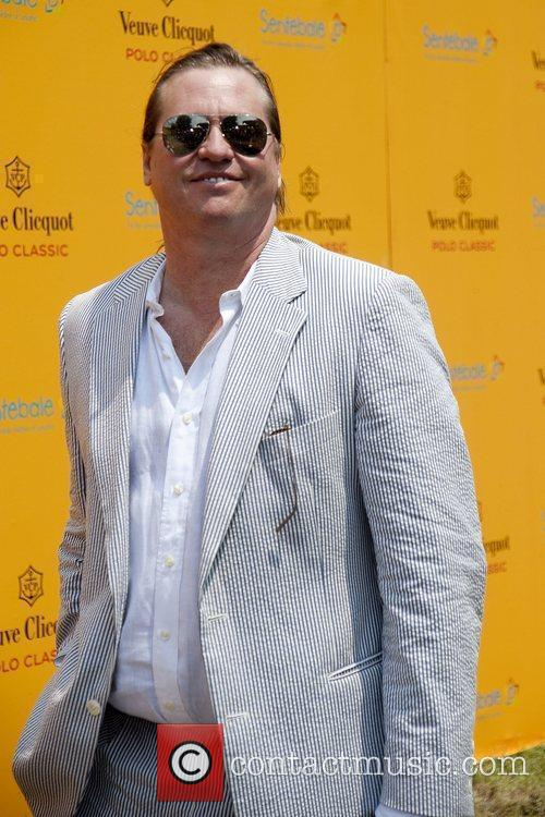Val Kilmer during the 3rd annual Veuve Clicquot...