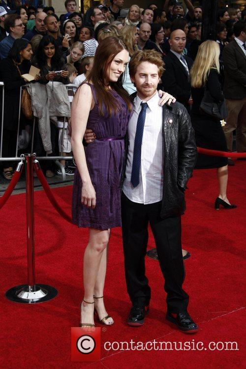 Seth Green and wife Clare Grant Los Angeles...