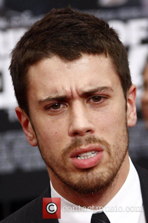 Toby Kebbell Los Angeles premiere of 'Prince of...