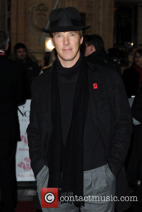 Benedict Cumberbatch and Albert Hall 1