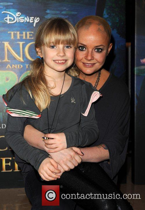Gail Porter with her daughter Honey The Princess...