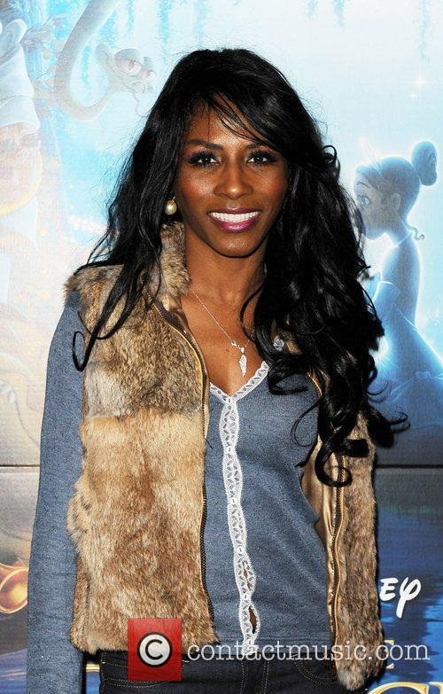 Sinitta The Princess and the Frog tea party...