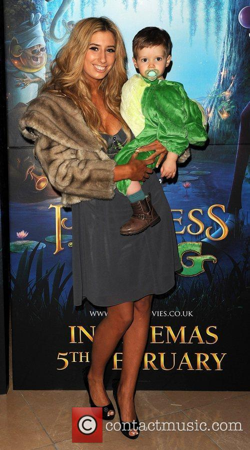 Stacey Solomon with her son Zachery The Princess...