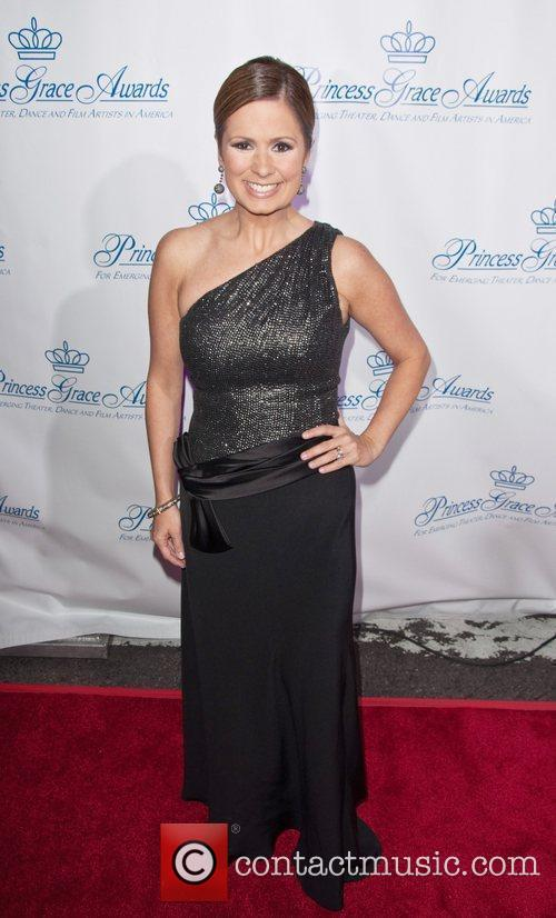 Maggie Rodriguez attends the Princess Grace Awards Gala...
