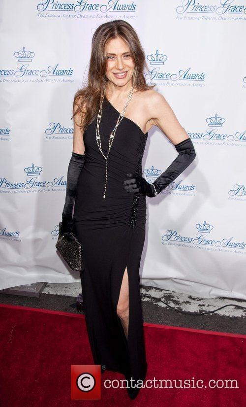 Bonnie Pfeifer Evans attends the Princess Grace Awards...