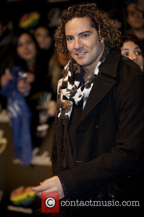 '40 Principales' 2009 Awards ceremony at the Palacio...