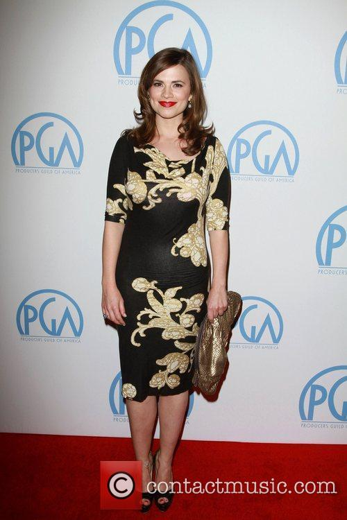 Hayley Atwell, Beverly Hilton Hotel