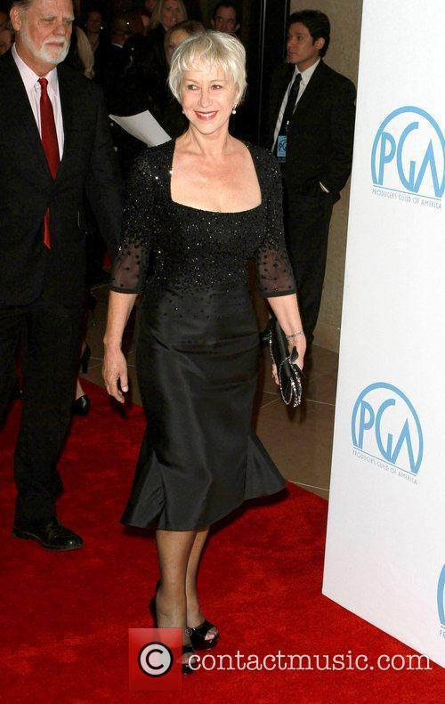 Helen Mirren and James Cameron