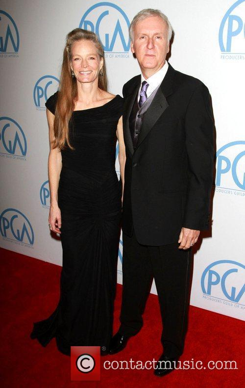 Suzy Amis and James Cameron 2