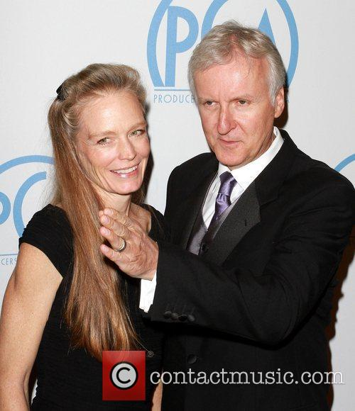 Suzy Amis and James Cameron 7