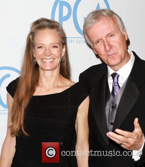 Suzy Amis and James Cameron 5