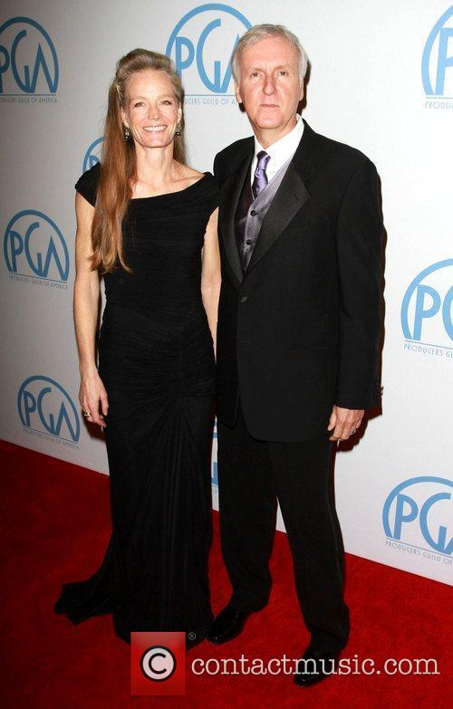 Suzy Amis and James Cameron 4
