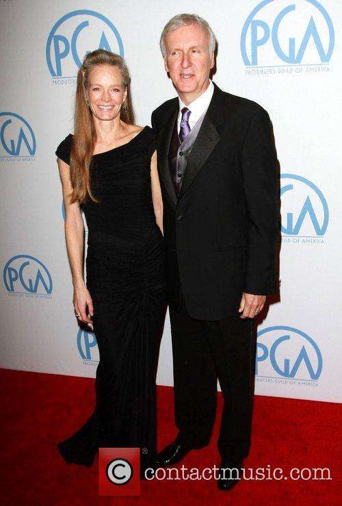 Suzy Amis and James Cameron 3