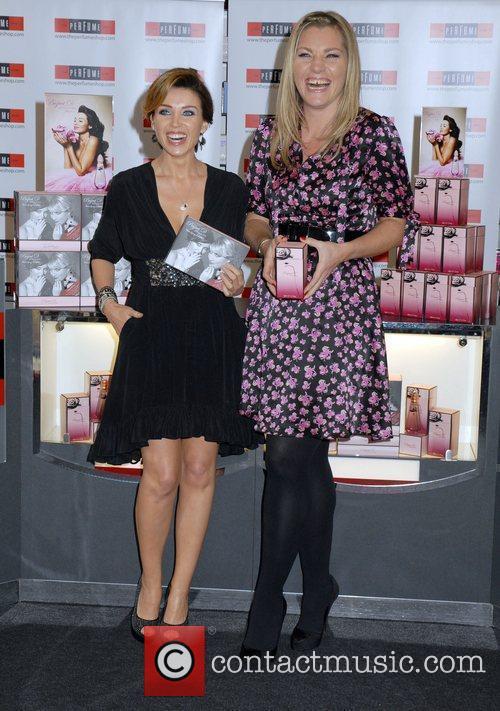Dannii Minogue and Tabitha Somerset Webb  introduce...