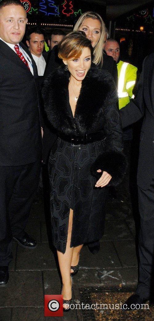 Dannii Minogue and Tabitha Somerset Webb  depart...