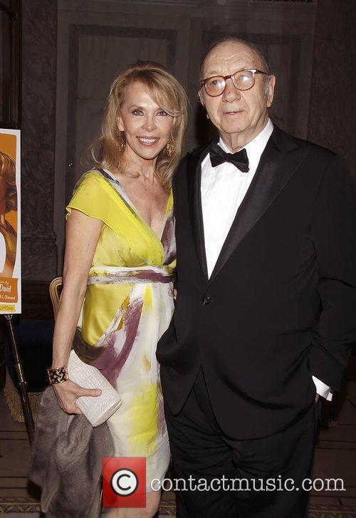 Elaine Joyce and Neil Simon  Opening night...