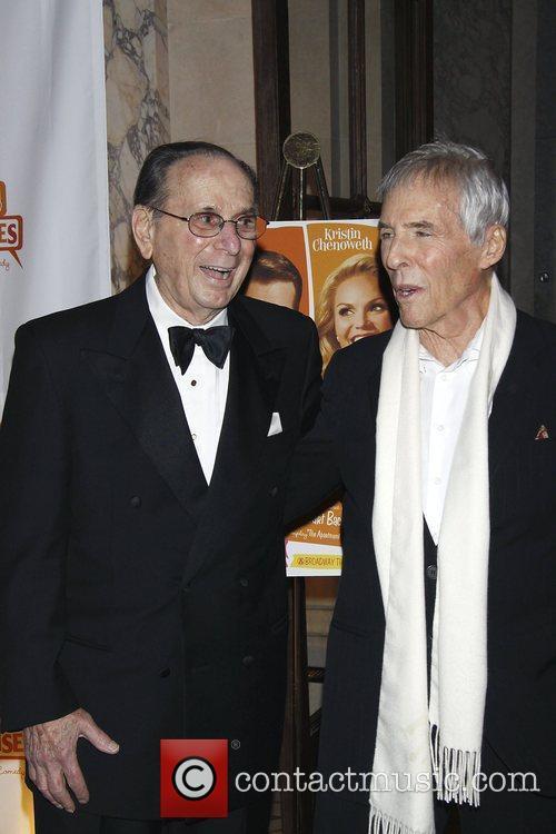 Hal David and Burt Bacharach  Opening night...