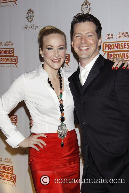 Katie Finneran and Sean Hayes 4