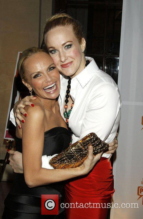Kristin Chenoweth and Katie Finneran  Opening night...