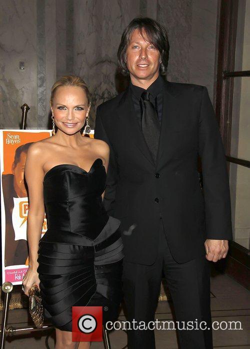 Kristin Chenoweth and Robert Watman  Opening night...