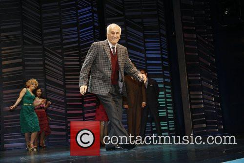 Dick Latessa on stage during the opening night...