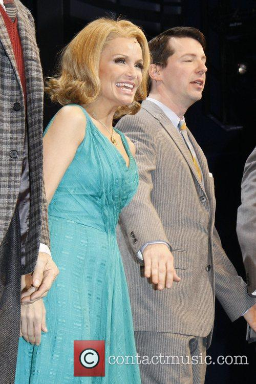Kristin Chenoweth and Sean Hayes 1