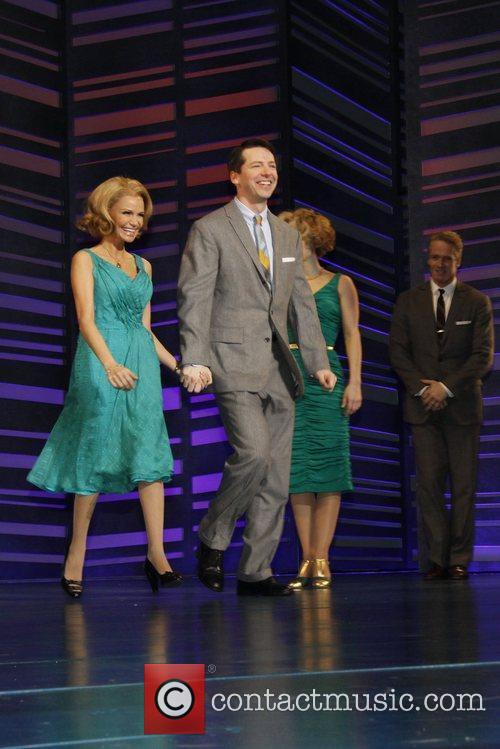 Kristin Chenoweth and Sean Hayes 8