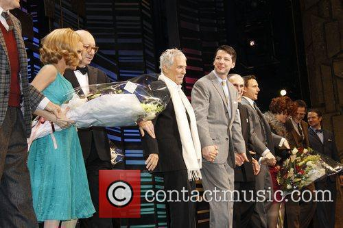 Kristin Chenoweth, Burt Bacharach, Neil Simon, Rob Ashford and Sean Hayes 11