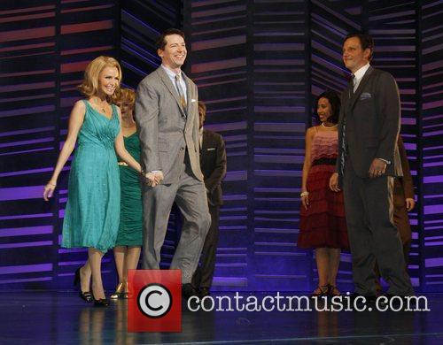Kristin Chenoweth and Sean Hayes 4